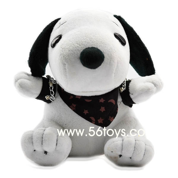 Snoopy with scarf