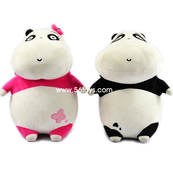 wholesale kitty plush toy custom cute panda plush toy for kid
