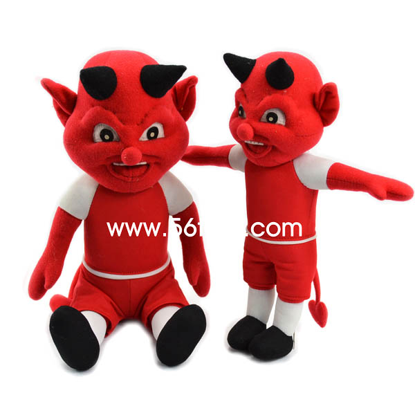 oem promotion super soft demon plush toy