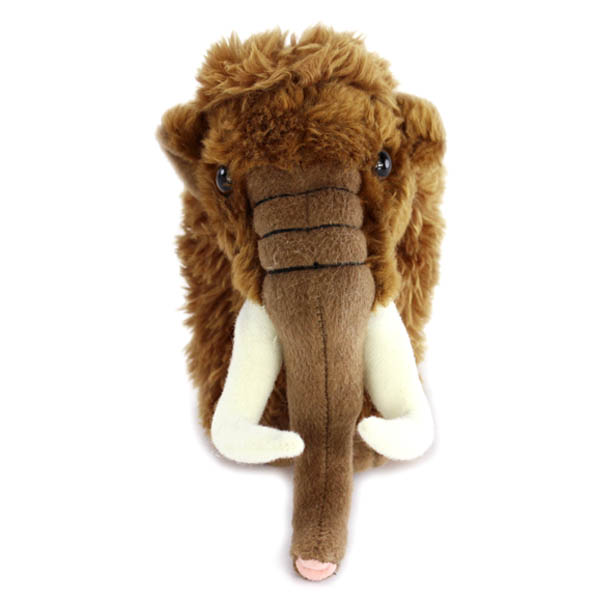 cute soft mammoth plush toy