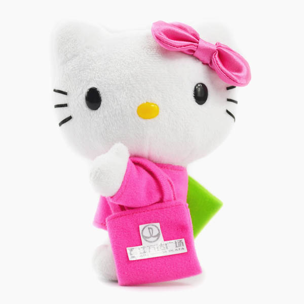 custom ketty plush toy,colorful hello ketty